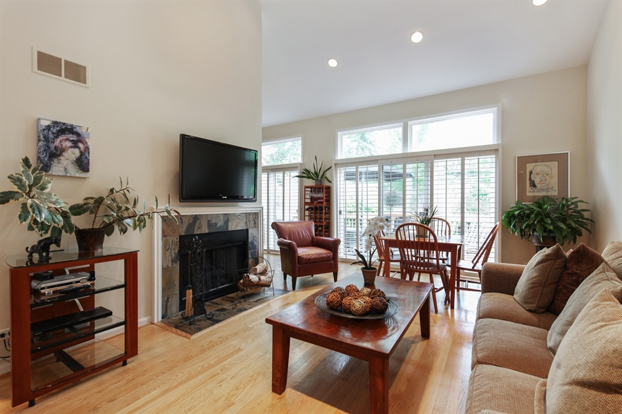 Real Estate Photography - 955 Villas Court, Highland Park, IL, 60035 - Family Room