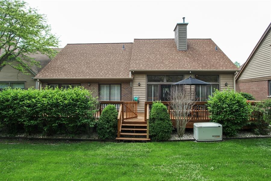 Real Estate Photography - 955 Villas Court, Highland Park, IL, 60035 - Rear View