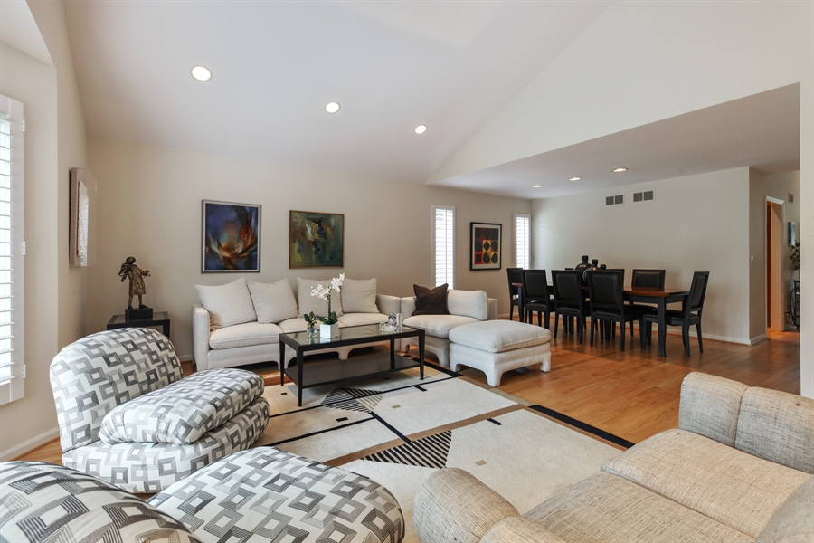 Real Estate Photography - 955 Villas Court, Highland Park, IL, 60035 - Living Room / Dining Room