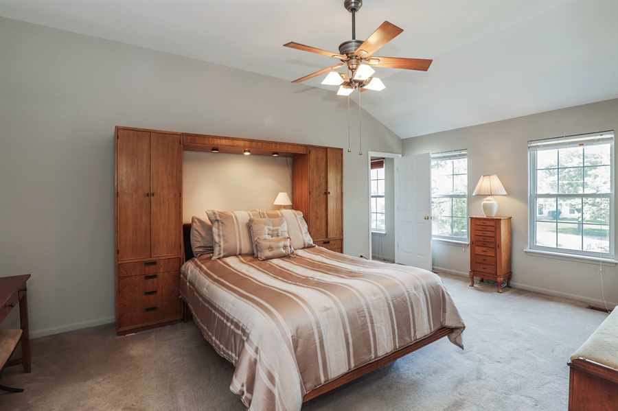 Real Estate Photography - 330 Kildere Court, Grayslake, IL, 60030 - Master Bedroom
