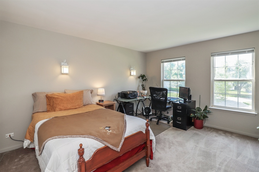 Real Estate Photography - 330 Kildere Court, Grayslake, IL, 60030 - 2nd Bedroom