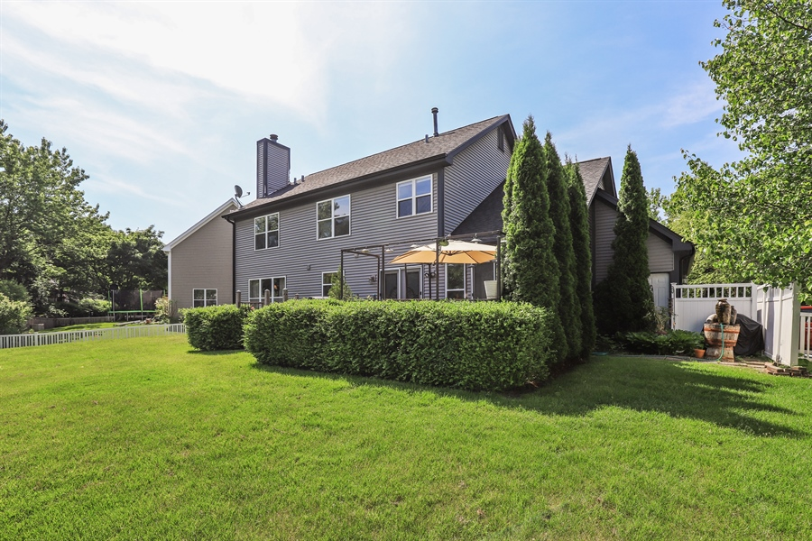 Real Estate Photography - 330 Kildere Court, Grayslake, IL, 60030 - Rear View
