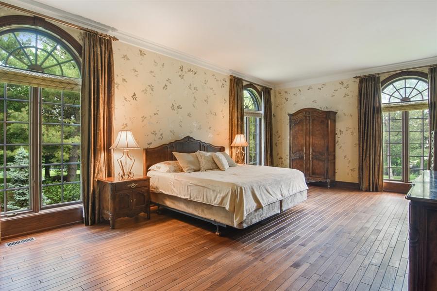 Real Estate Photography - 585 Windsor Road, Inverness, IL, 60067 - 1st Floor Master Bedroom