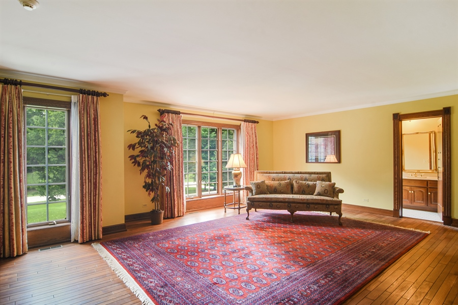 Real Estate Photography - 585 Windsor Road, Inverness, IL, 60067 - 3rd Bedroom En-Suite