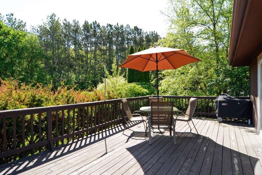 Real Estate Photography - 6N907 BRIERWOOD Drive, Campton Hills, IL, 60175 - Rear Deck
