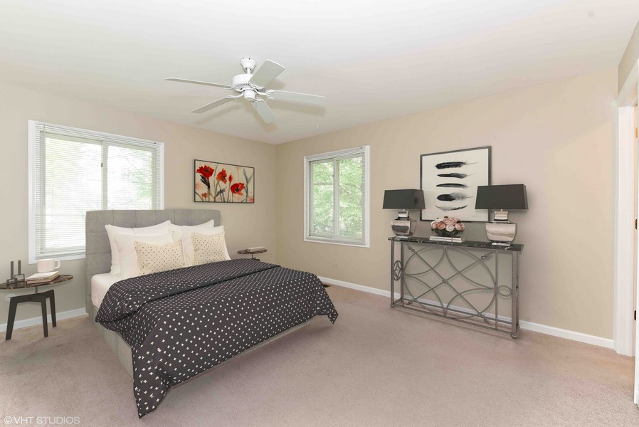 Real Estate Photography - 6N907 BRIERWOOD Drive, Campton Hills, IL, 60175 - Master Bedroom Staged