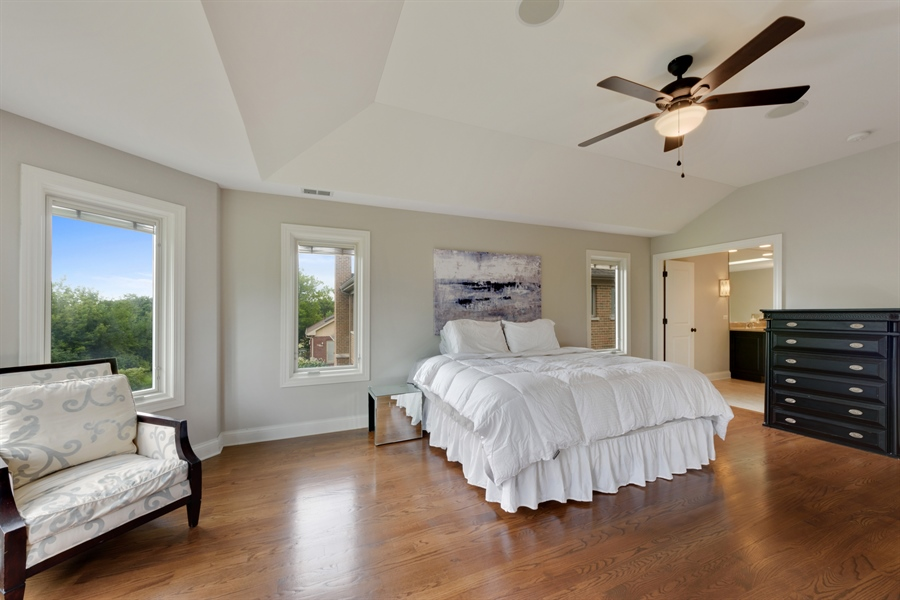 Real Estate Photography - 1531 S. Douglas Avenue, Arlington Heights, IL, 60005 - Master Bedroom