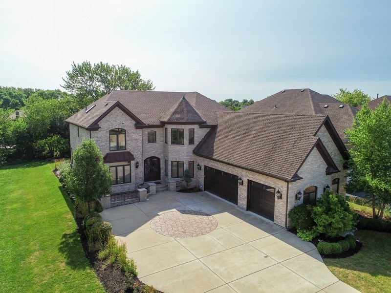 Real Estate Photography - 1531 S. Douglas Avenue, Arlington Heights, IL, 60005 - Aerial View