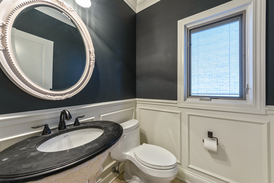 Real Estate Photography - 1531 S. Douglas Avenue, Arlington Heights, IL, 60005 - Powder Room