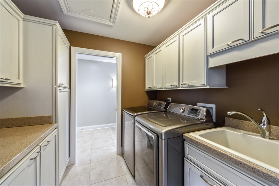 Real Estate Photography - 1531 S. Douglas Avenue, Arlington Heights, IL, 60005 - Upstairs Laundry room