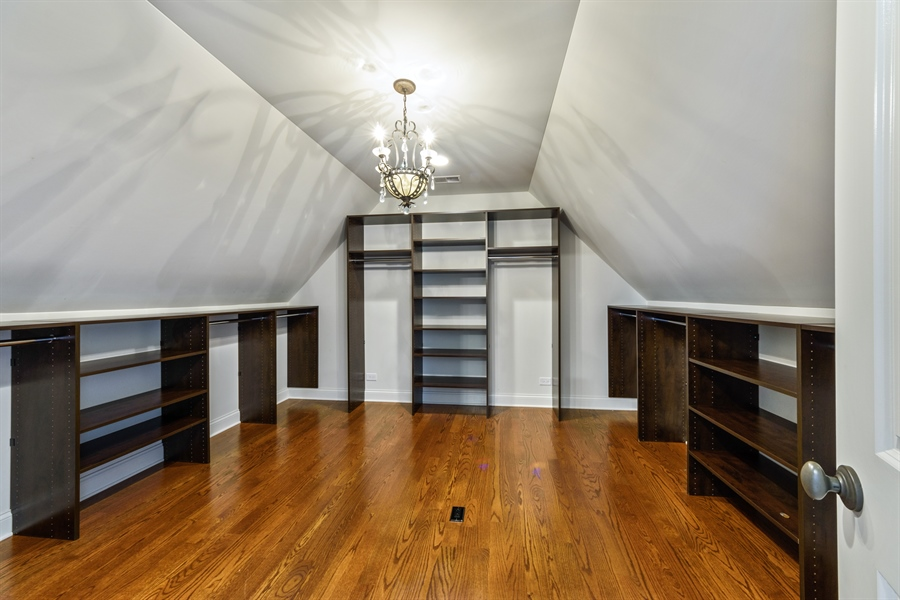 Real Estate Photography - 1531 S. Douglas Avenue, Arlington Heights, IL, 60005 - Master Bedroom Closet