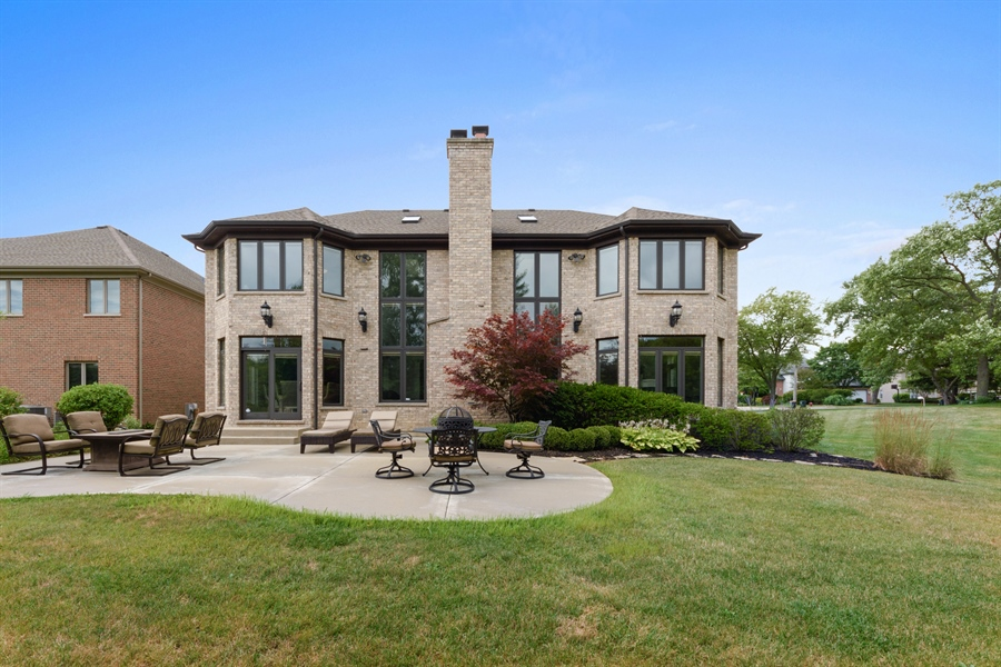 Real Estate Photography - 1531 S. Douglas Avenue, Arlington Heights, IL, 60005 - Rear View