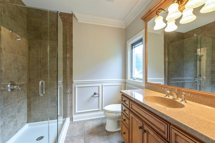 Real Estate Photography - 1531 S. Douglas Avenue, Arlington Heights, IL, 60005 - 1st floor bathroom