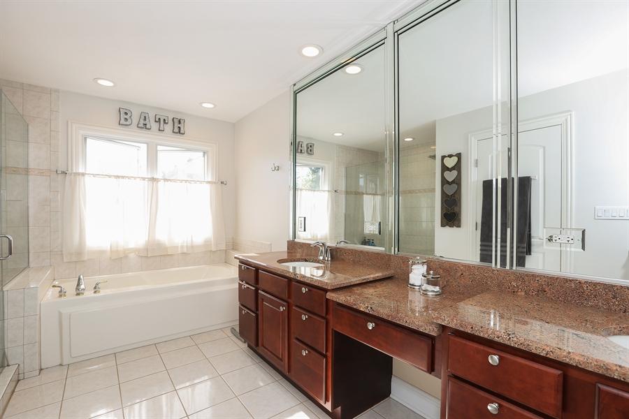 Real Estate Photography - 20 Melrose Street, Westmont, IL, 60559 - Master Bathroom
