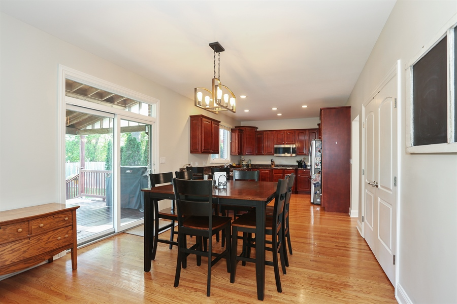 Real Estate Photography - 20 Melrose Street, Westmont, IL, 60559 - Kitchen / Breakfast Room