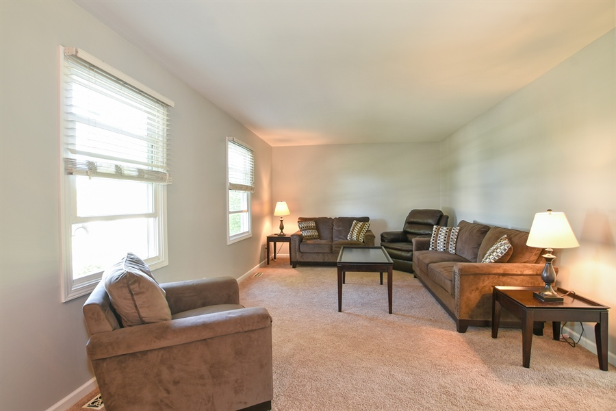 Real Estate Photography - 2021 Briar Hill Drive, Schaumburg, IL, 60194 - Living Room
