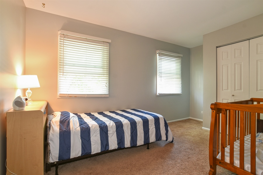 Real Estate Photography - 2021 Briar Hill Drive, Schaumburg, IL, 60194 - Second Bedroom