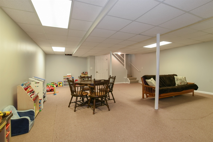 Real Estate Photography - 2021 Briar Hill Drive, Schaumburg, IL, 60194 - Full Finished Basement