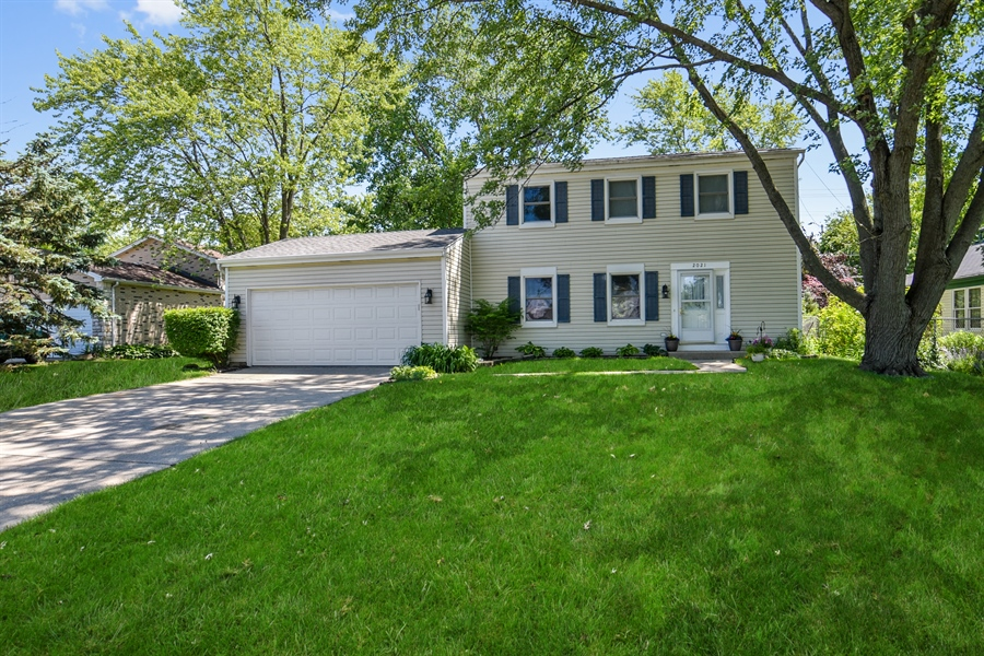 Real Estate Photography - 2021 Briar Hill Drive, Schaumburg, IL, 60194 - Front View
