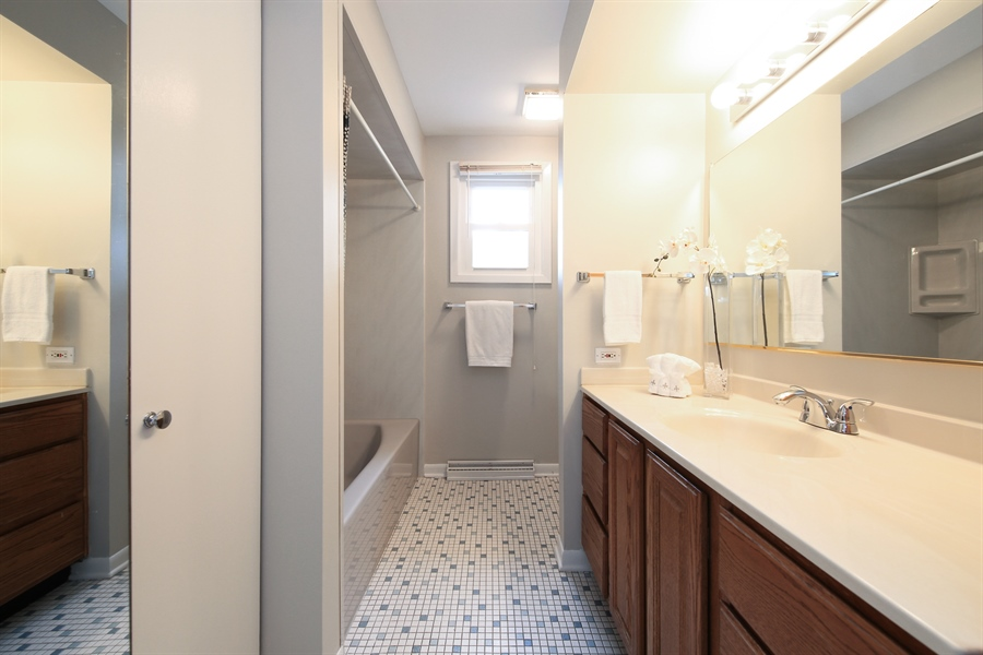 Real Estate Photography - 1248 Sandpiper Lane, Naperville, IL, 60540 - Master Bath