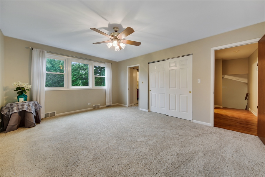 Real Estate Photography - 1248 Sandpiper Lane, Naperville, IL, 60540 - Master Bedroom