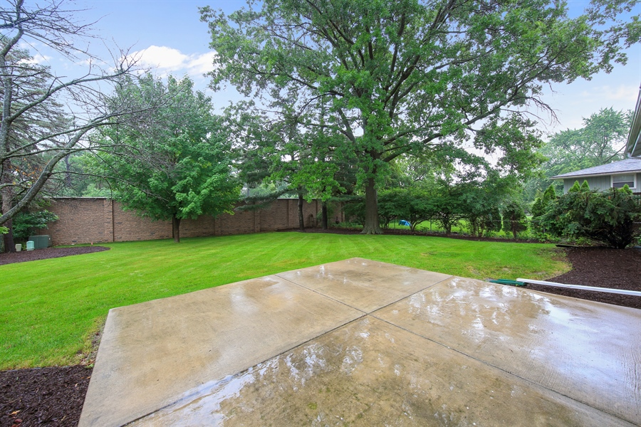 Real Estate Photography - 1248 Sandpiper Lane, Naperville, IL, 60540 - Patio