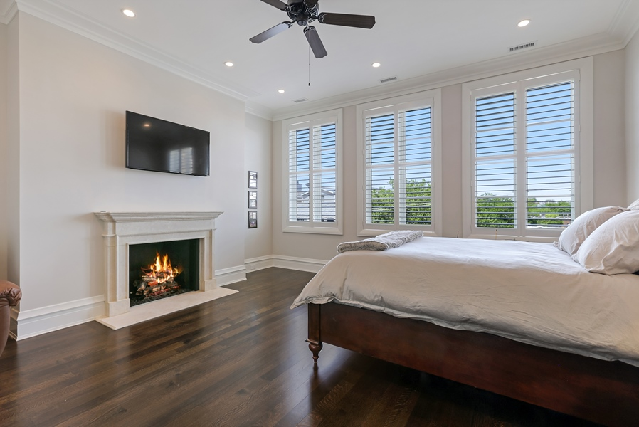 Real Estate Photography - 1720 N. MOHAWK Street, Chicago, IL, 60614 - 4th Bedroom