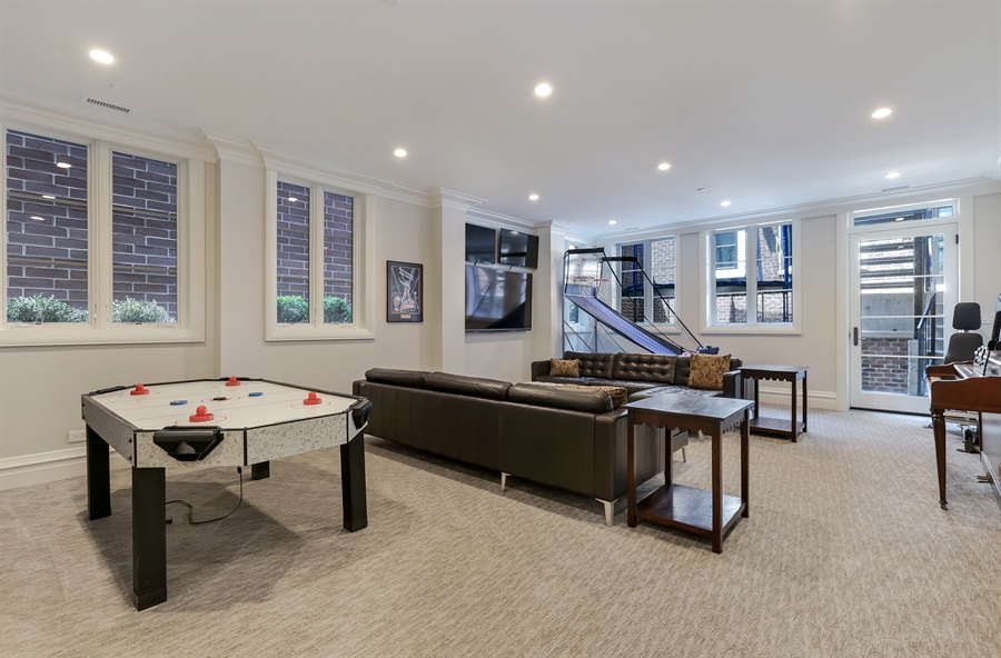 Real Estate Photography - 1720 N. MOHAWK Street, Chicago, IL, 60614 - Lower Level