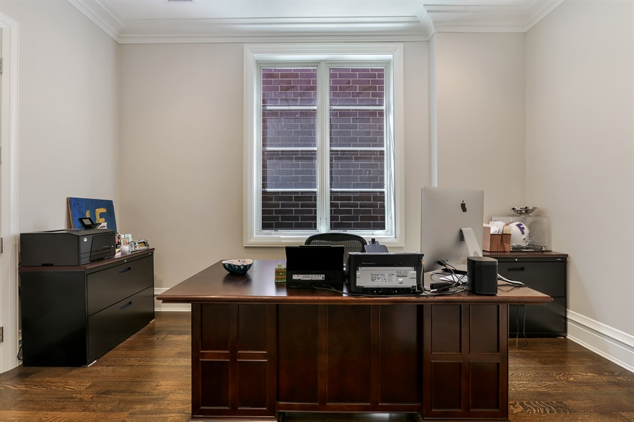 Real Estate Photography - 1720 N. MOHAWK Street, Chicago, IL, 60614 - Office/ 5th Bedroom