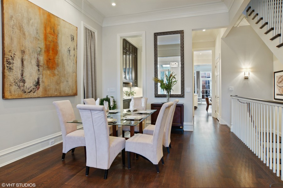 Real Estate Photography - 1720 N. MOHAWK Street, Chicago, IL, 60614 - Dining Room