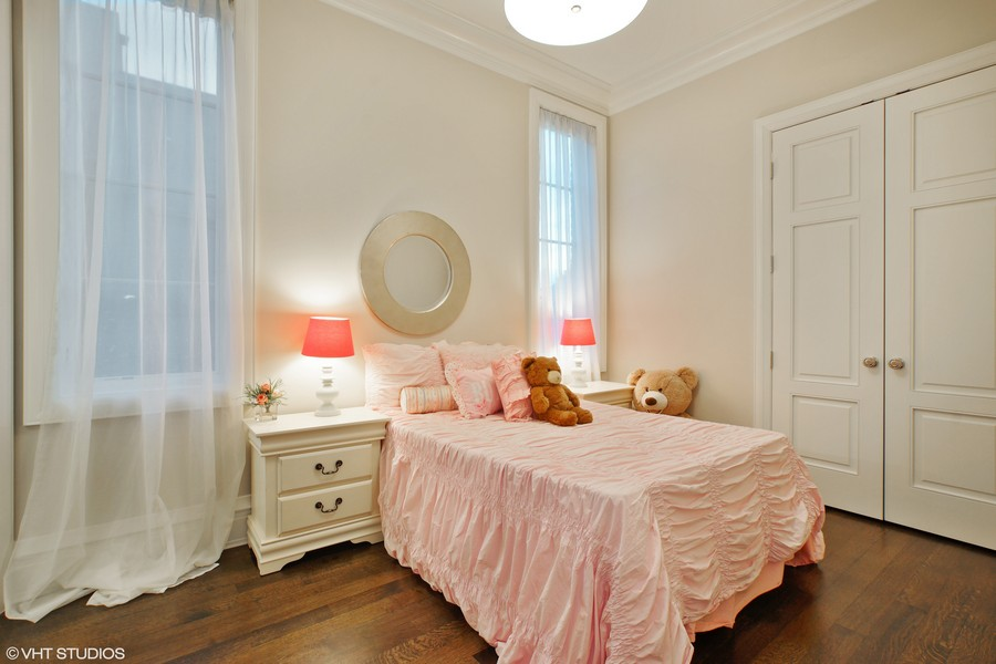 Real Estate Photography - 1720 N. MOHAWK Street, Chicago, IL, 60614 - 3rd Bedroom