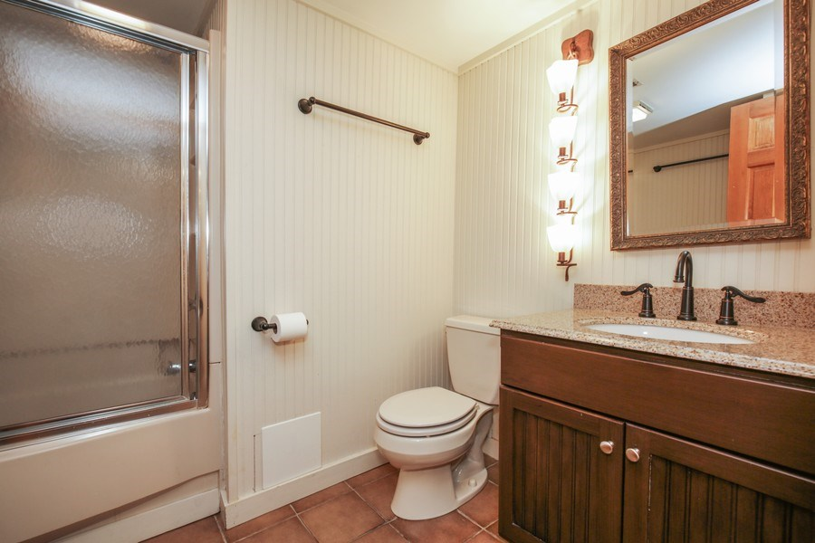 Real Estate Photography - 11N226 Peplow Road, Hampshire, IL, 60140 - 3rd Bathroom