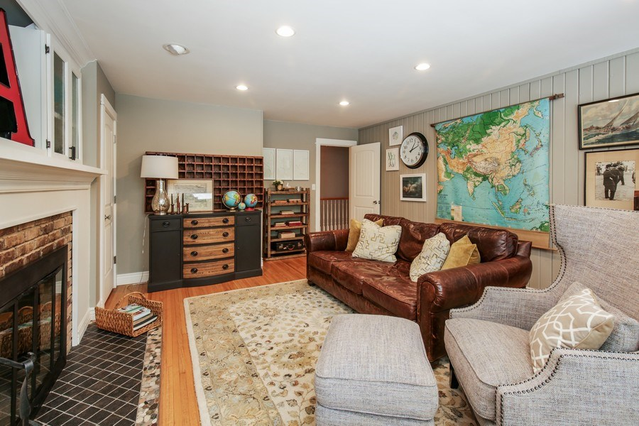 Real Estate Photography - 11N226 Peplow Road, Hampshire, IL, 60140 - Family Room