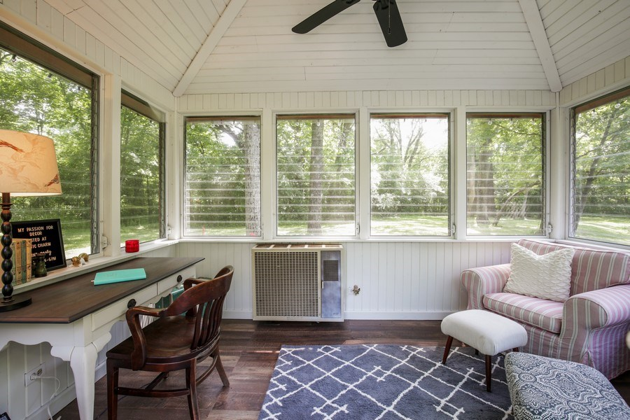 Real Estate Photography - 11N226 Peplow Road, Hampshire, IL, 60140 - Porch