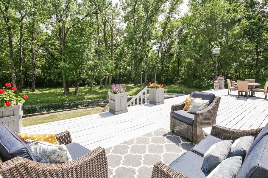 Real Estate Photography - 11N226 Peplow Road, Hampshire, IL, 60140 - Deck