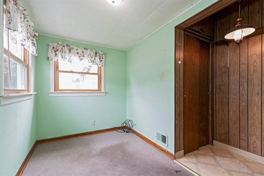 Real Estate Photography - 4619 N. Leamington Avenue, Chicago, IL, 60630 - 2nd Bedroom
