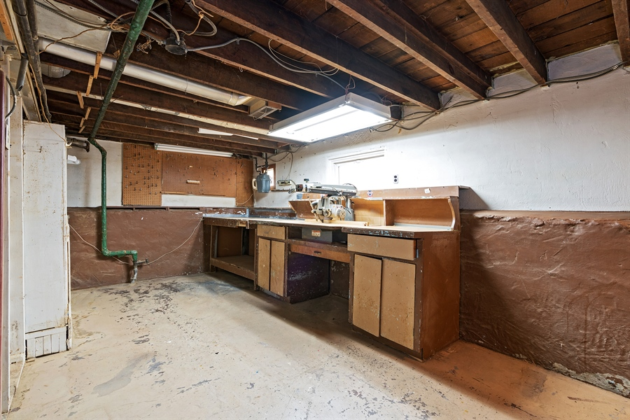Real Estate Photography - 4619 N. Leamington Avenue, Chicago, IL, 60630 - Lower Level