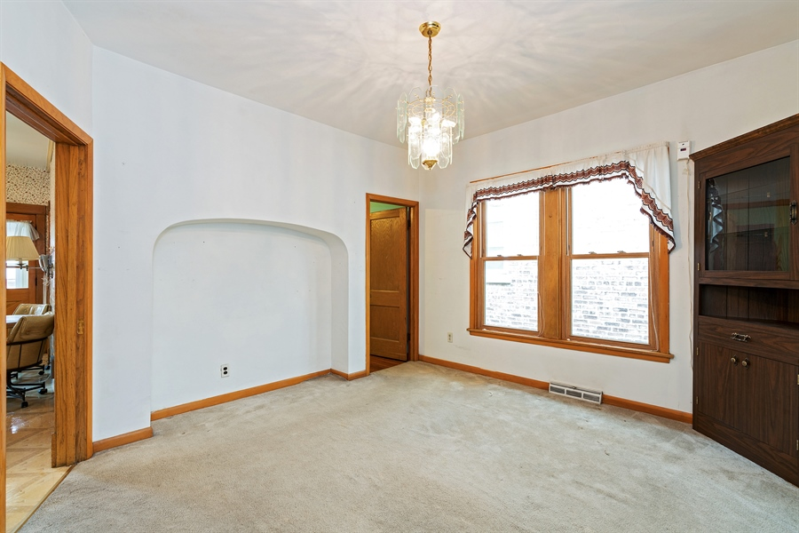 Real Estate Photography - 4619 N. Leamington Avenue, Chicago, IL, 60630 - Dining Room