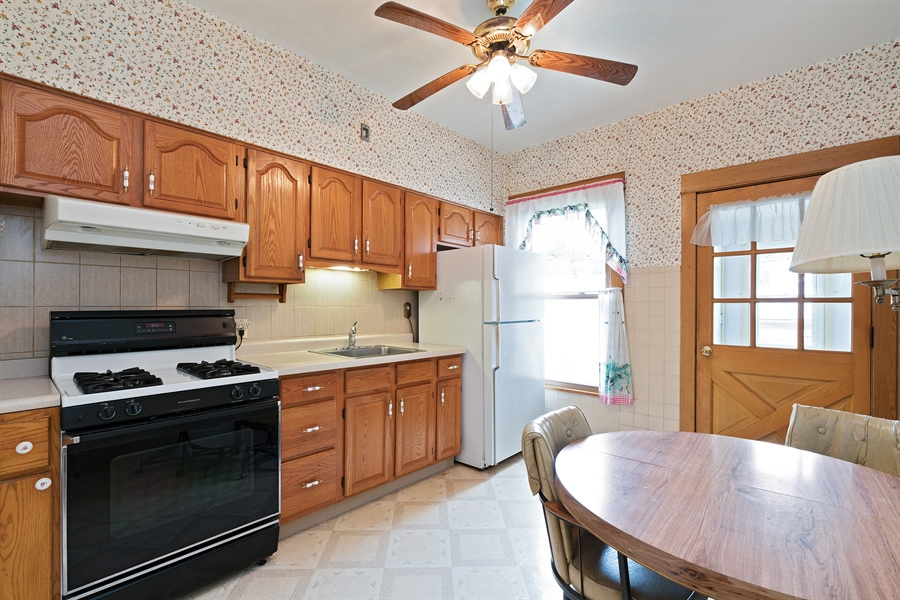 Real Estate Photography - 4619 N. Leamington Avenue, Chicago, IL, 60630 - Kitchen