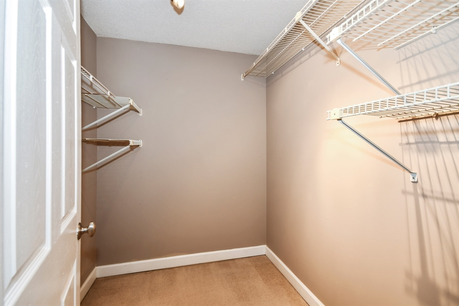 Real Estate Photography - 470 FAWELL Boulevard, Unit 119, Glen Ellyn, IL, 60137 - Master Bedroom Closet