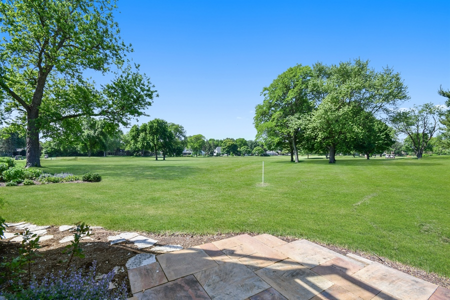 Real Estate Photography - 625 Bowling Green Court, Naperville, IL, 60563 - Golf views of the 16th & 17th holes