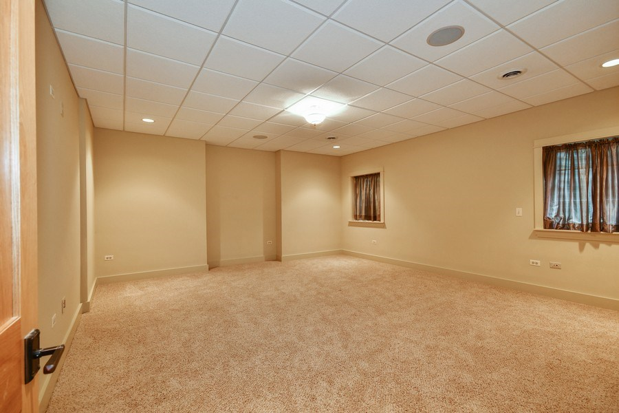 Real Estate Photography - 625 Bowling Green Court, Naperville, IL, 60563 - Versatile 5th BR or workout room in the LL