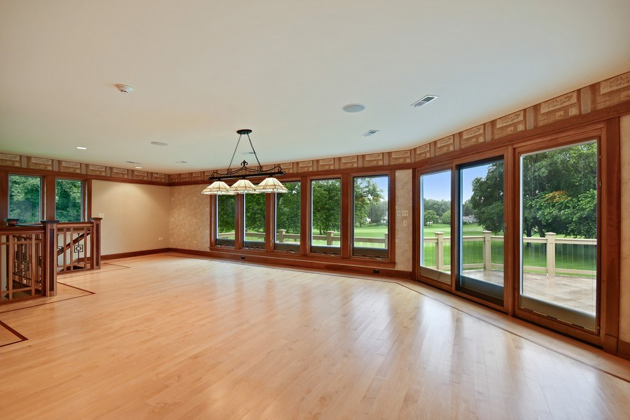 Real Estate Photography - 625 Bowling Green Court, Naperville, IL, 60563 - Plenty of game space in the 2nd floor rec rm