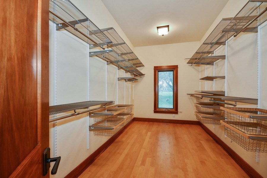 Real Estate Photography - 625 Bowling Green Court, Naperville, IL, 60563 - 20 x 8 custom fitted MBR closet