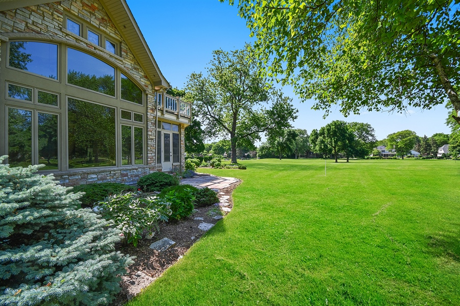 Real Estate Photography - 625 Bowling Green Court, Naperville, IL, 60563 - Fabulous appeal front or back!