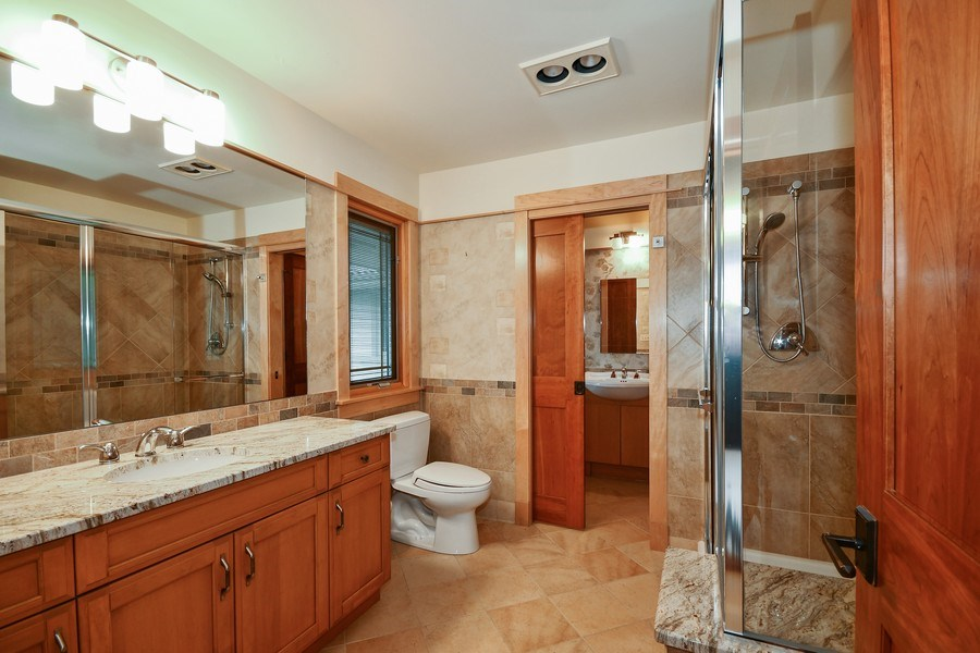 Real Estate Photography - 625 Bowling Green Court, Naperville, IL, 60563 - Each BR has an ensuite luxurious bath