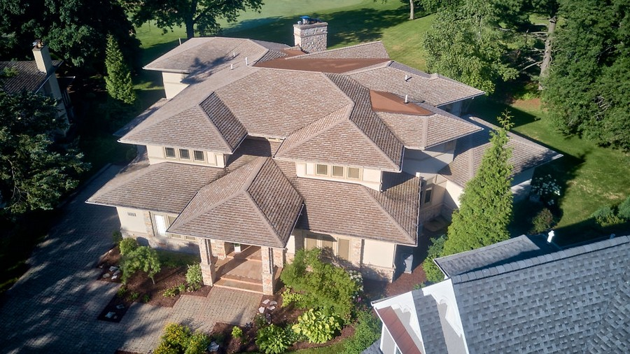 Real Estate Photography - 625 Bowling Green Court, Naperville, IL, 60563 - An architectural masterpiece!