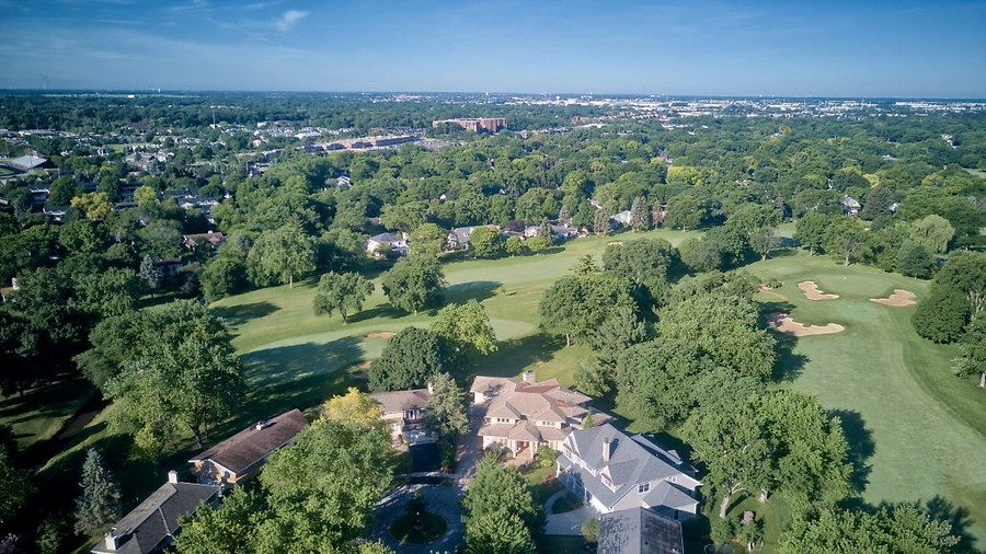 Real Estate Photography - 625 Bowling Green Court, Naperville, IL, 60563 - Stunning golf course views
