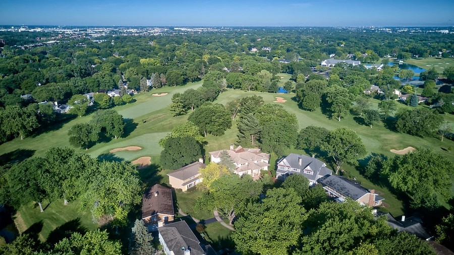 Real Estate Photography - 625 Bowling Green Court, Naperville, IL, 60563 - Vistas of the 16th, 17th & 18th holes