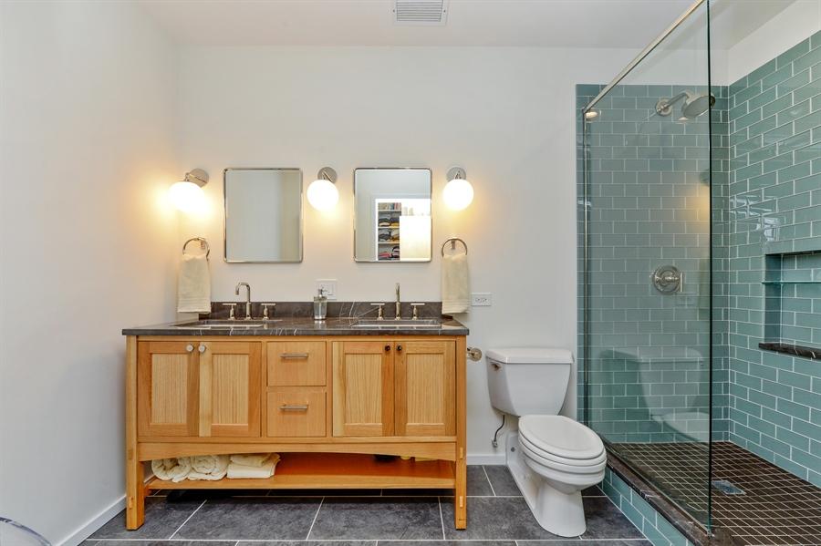Real Estate Photography - 417 S. Jefferson Street, Unit 504B, Chicago, IL, 60607 - Master Bathroom